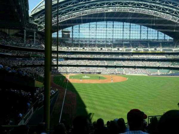 Miller Park, section: 205, row: 10, seat: 2