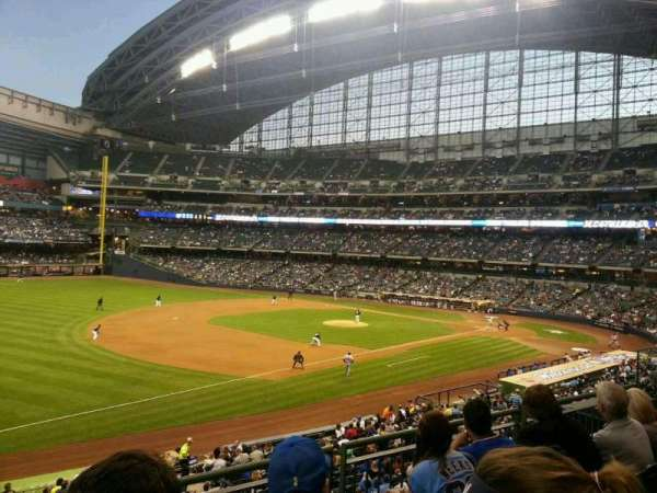 Miller Park, section: 228, row: 4, seat: 14