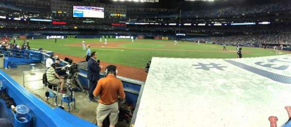 Rogers Centre, section: 126R, row: 8, seat: 4