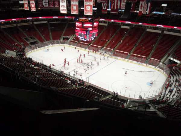 PNC Arena, section: 301, row: H, seat: 03