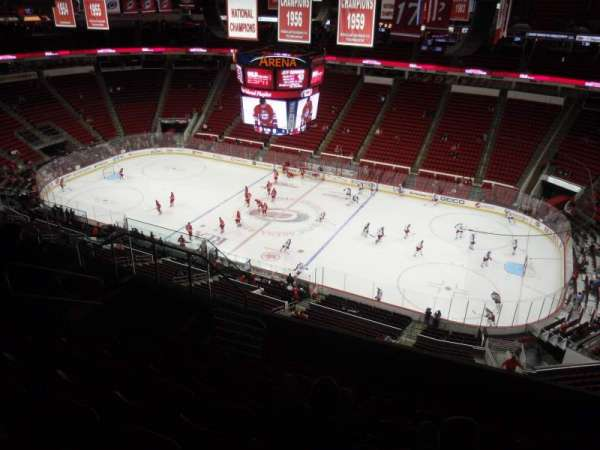 PNC Arena, section: 302, row: H, seat: 8