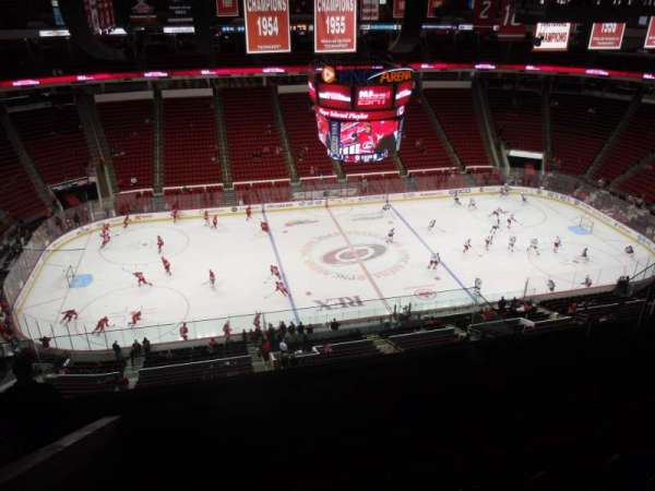 PNC Arena, section: 305, row: H, seat: 13