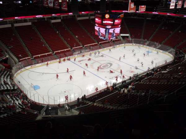 PNC Arena, section: 308, row: L, seat: 10