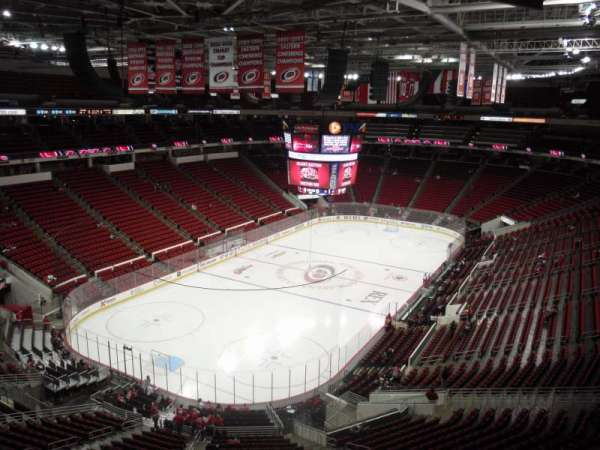 PNC Arena, section: 310, row: A, seat: 20