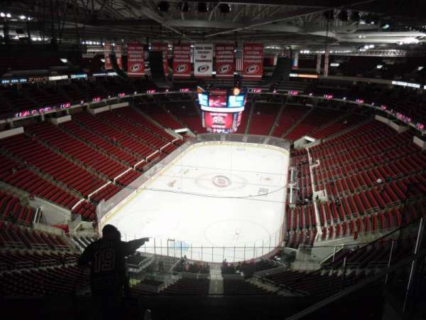 PNC Arena, section: 313, row: G, seat: 5