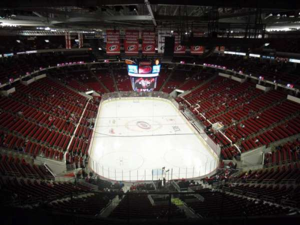 PNC Arena, section: 316, row: J, seat: 1