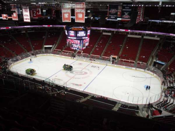PNC Arena, section: 322, row: H, seat: 7