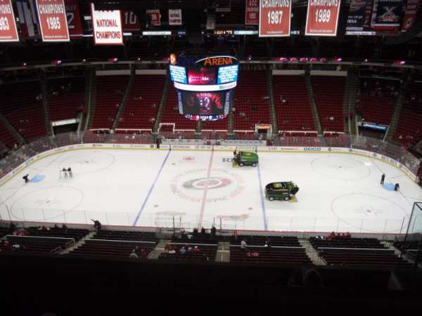 PNC Arena, section: 324, row: F, seat: 5