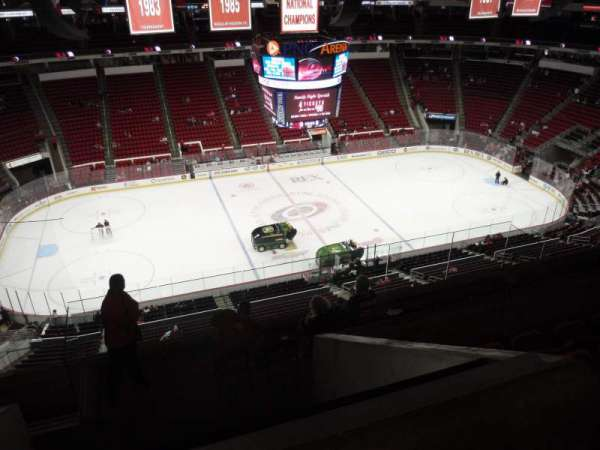 PNC Arena, section: 325, row: H, seat: 18