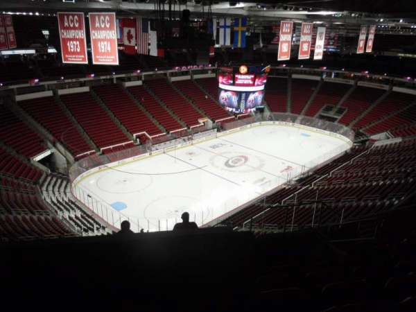 PNC Arena, section: 329, row: J, seat: 7