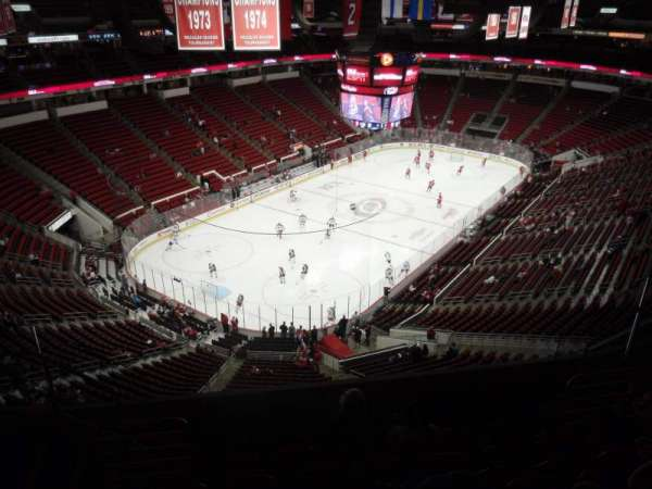 PNC Arena, section: 330, row: G, seat: 9
