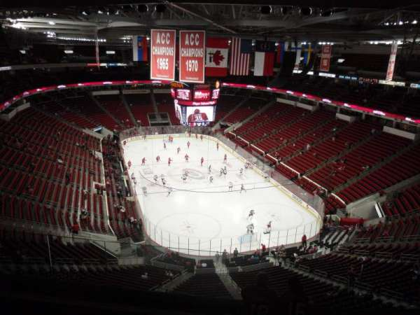 PNC Arena, section: 334, row: G, seat: 21