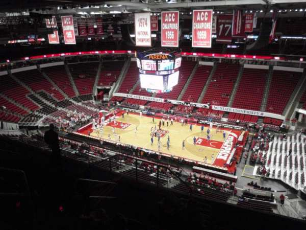 PNC Arena, section: 302, row: H, seat: 11