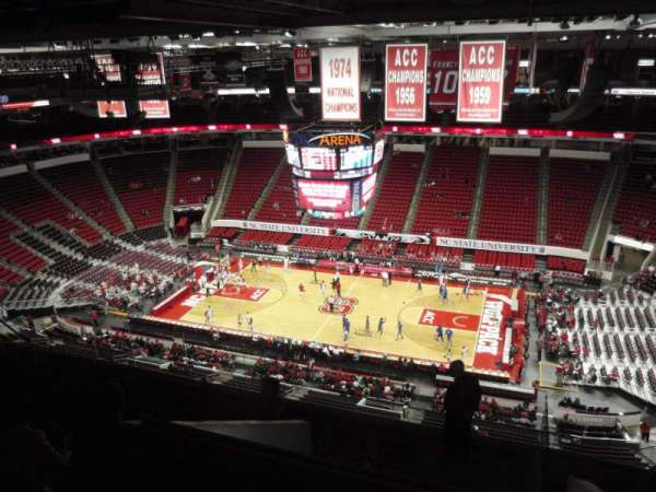 PNC Arena, section: 303, row: J, seat: 7