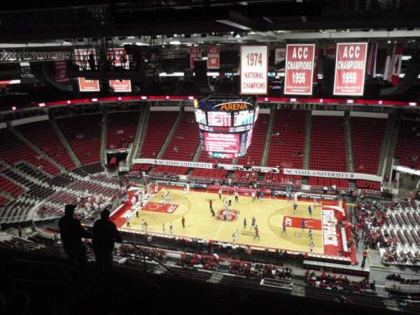 PNC Arena, section: 303, row: J, seat: 18