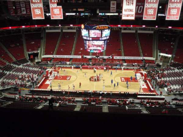 PNC Arena, section: 304, row: G, seat: 9
