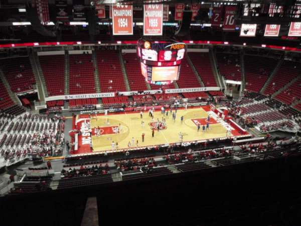 PNC Arena, section: 305, row: H, seat: 15