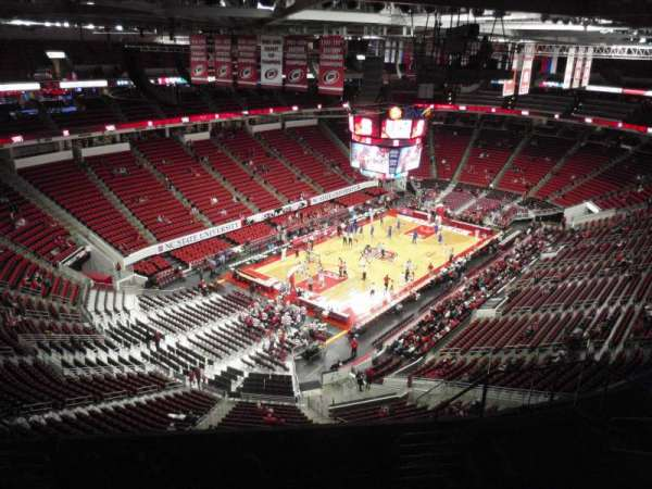 PNC Arena, section: 310, row: H, seat: 11