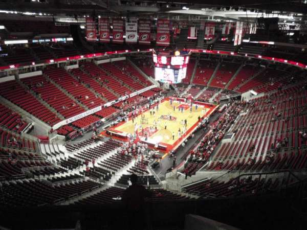 PNC Arena, section: 311, row: H, seat: 8