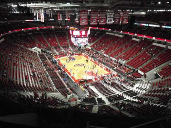 PNC Arena, section: 317, row: H, seat: 5