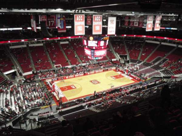 PNC Arena, section: 326, row: J, seat: 15