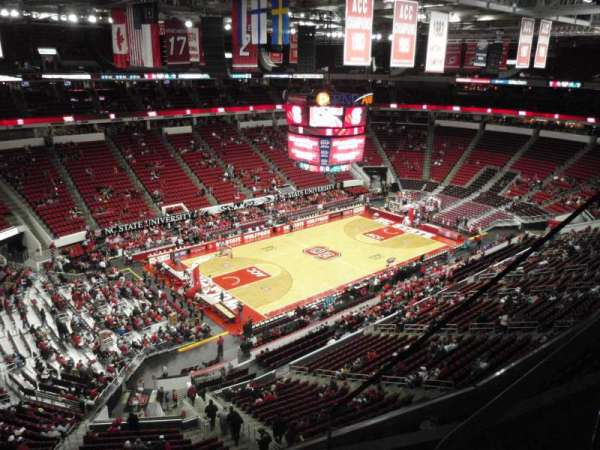 PNC Arena, section: 328, row: C, seat: 3