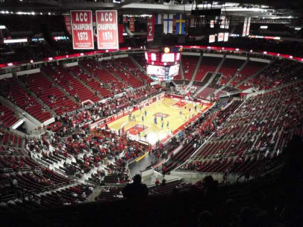 PNC Arena, section: 330, row: H, seat: 10