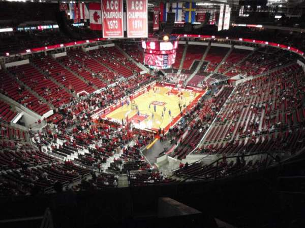PNC Arena, section: 331, row: H, seat: 7