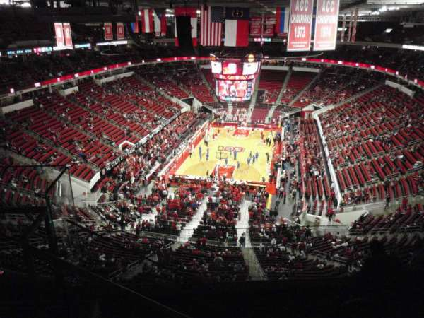 PNC Arena, section: 332, row: F, seat: 27