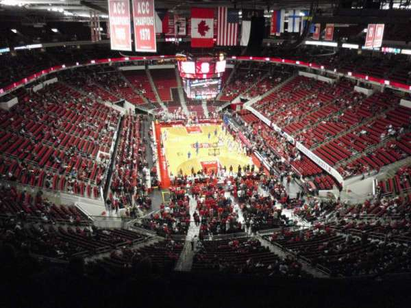 PNC Arena, section: 334, row: F, seat: 5