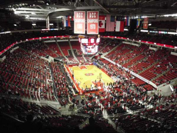 PNC Arena, section: 334, row: F, seat: 24