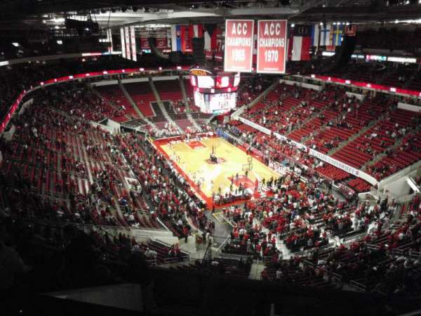 PNC Arena, section: 335, row: H, seat: 6