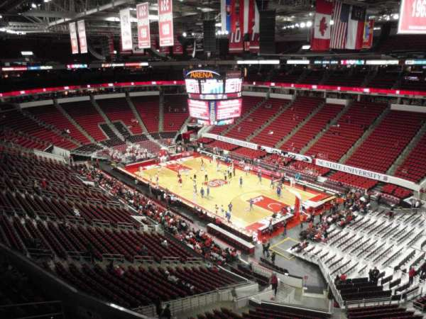 PNC Arena, section: 337, row: A, seat: 6