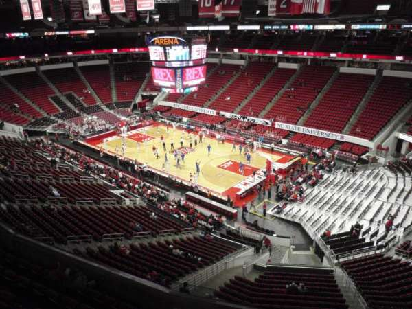 PNC Arena, section: 338, row: A, seat: 14