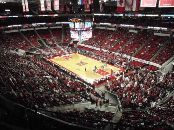 PNC Arena, section: 337, row: A, seat: 1
