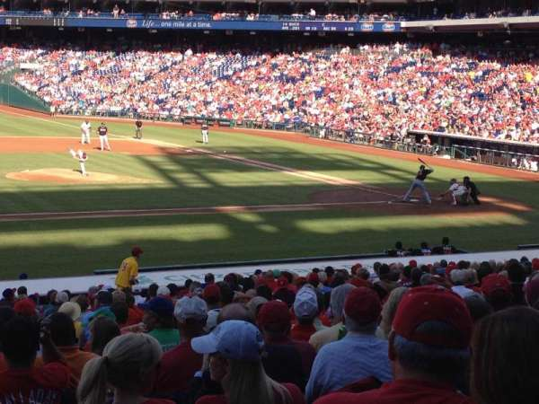 Citizens Bank Park, section: 131, row: 27, seat: 14