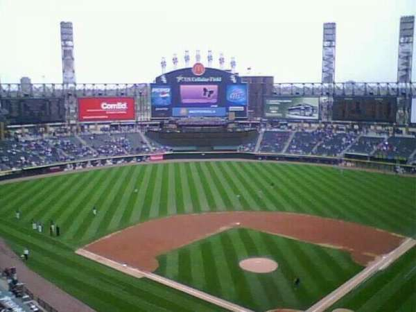 Guaranteed Rate Field, section: 534, row: 4, seat: 5