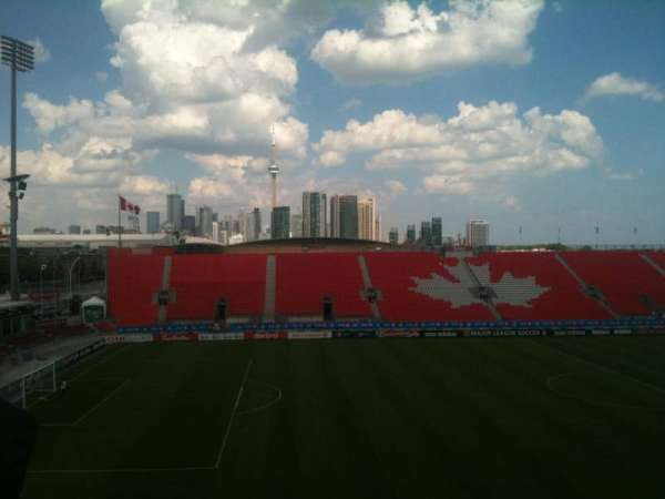 BMO Field, section: 225, row: 1, seat: 7
