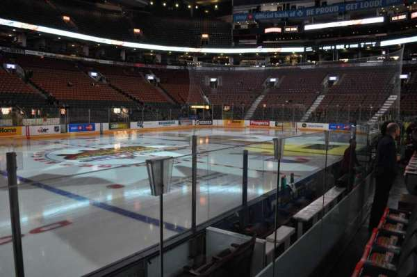 Scotiabank Arena, section: 120, row: 1, seat: 8
