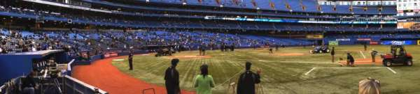 Rogers Centre, section: 116R, row: 4, seat: 6