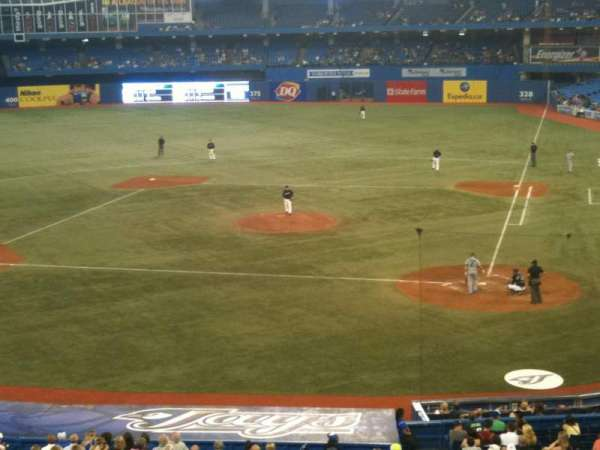 Rogers Centre, section: 226R, row: 1, seat: 6