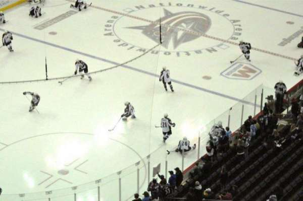 Nationwide Arena, section: 207, row: 15, seat: 2
