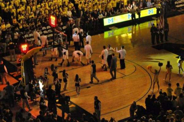 Crisler Center, section: 211