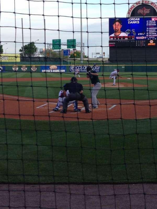 Sahlen Field, section: 102, row: B, seat: 11