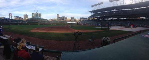 Wrigley Field, section: 12, row: 1, seat: 10