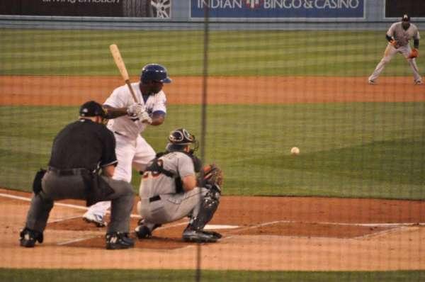 Dodger Stadium, section: 4FD, row: D, seat: 9