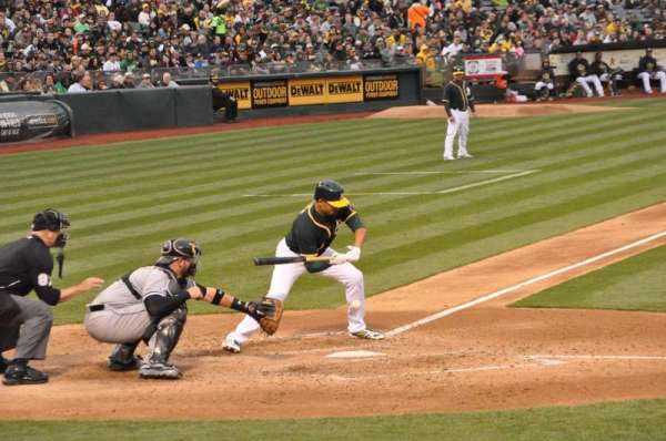 Oakland Coliseum, section: 114, row: 7, seat: 14