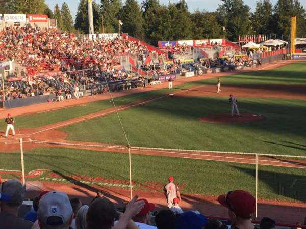 Scotiabank Field, section: 1, row: 12, seat: 12