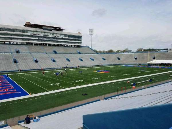 David Booth Kansas Memorial Stadium, section: 25, row: 26, seat: 1