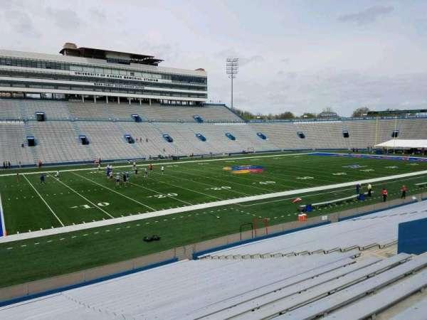 David Booth Kansas Memorial Stadium, section: 24, row: 26, seat: 20